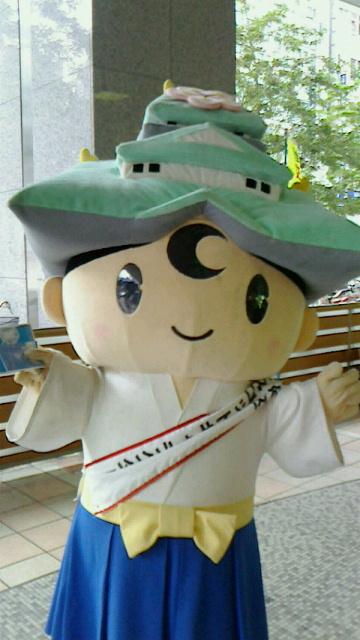 大阪の行政書士事務所2014年9月大阪城ゆるキャラ